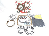 Basic TH350 High Horsepower Performance Rebuild Kit w/ Stage-1 Red Clutches & Band Made in the USA by Raybestos Powertrain.