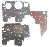 Ford AODE Valve Body & Case Spacer Plate Complete Gasket Set (1992-1995) Buy this High Quality Gasket Kit from Global Transmission Parts
