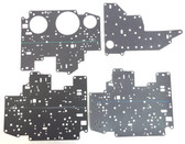 Complete Set of Ford 4R70W Series Valve Body Spacer Plate Gaskets 1996-UP Gaskets are marked for easy identification.
