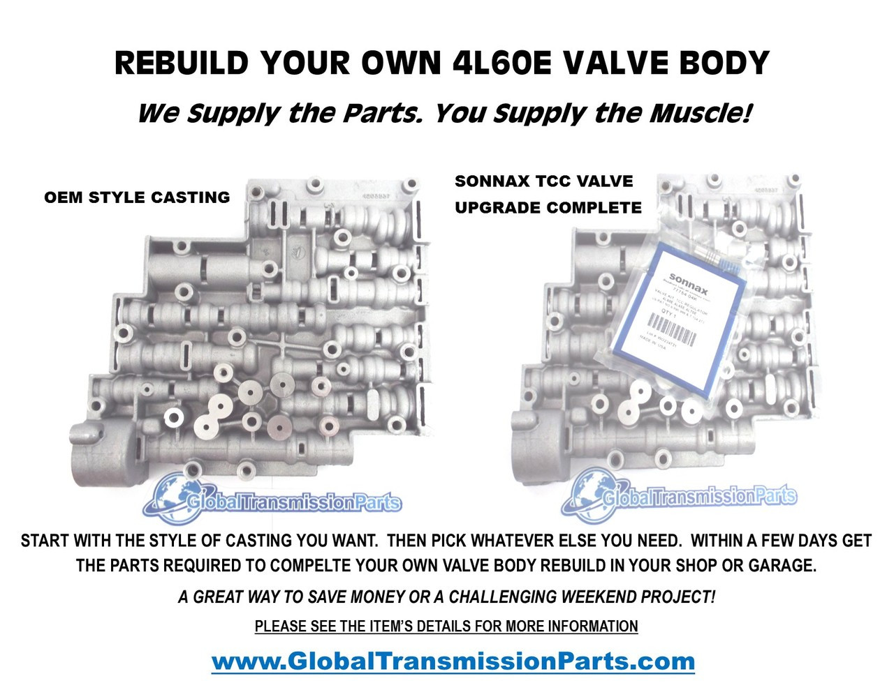 rebuild your own 4l60e transmission valve body w hd parts easy rh globaltransmissionparts com