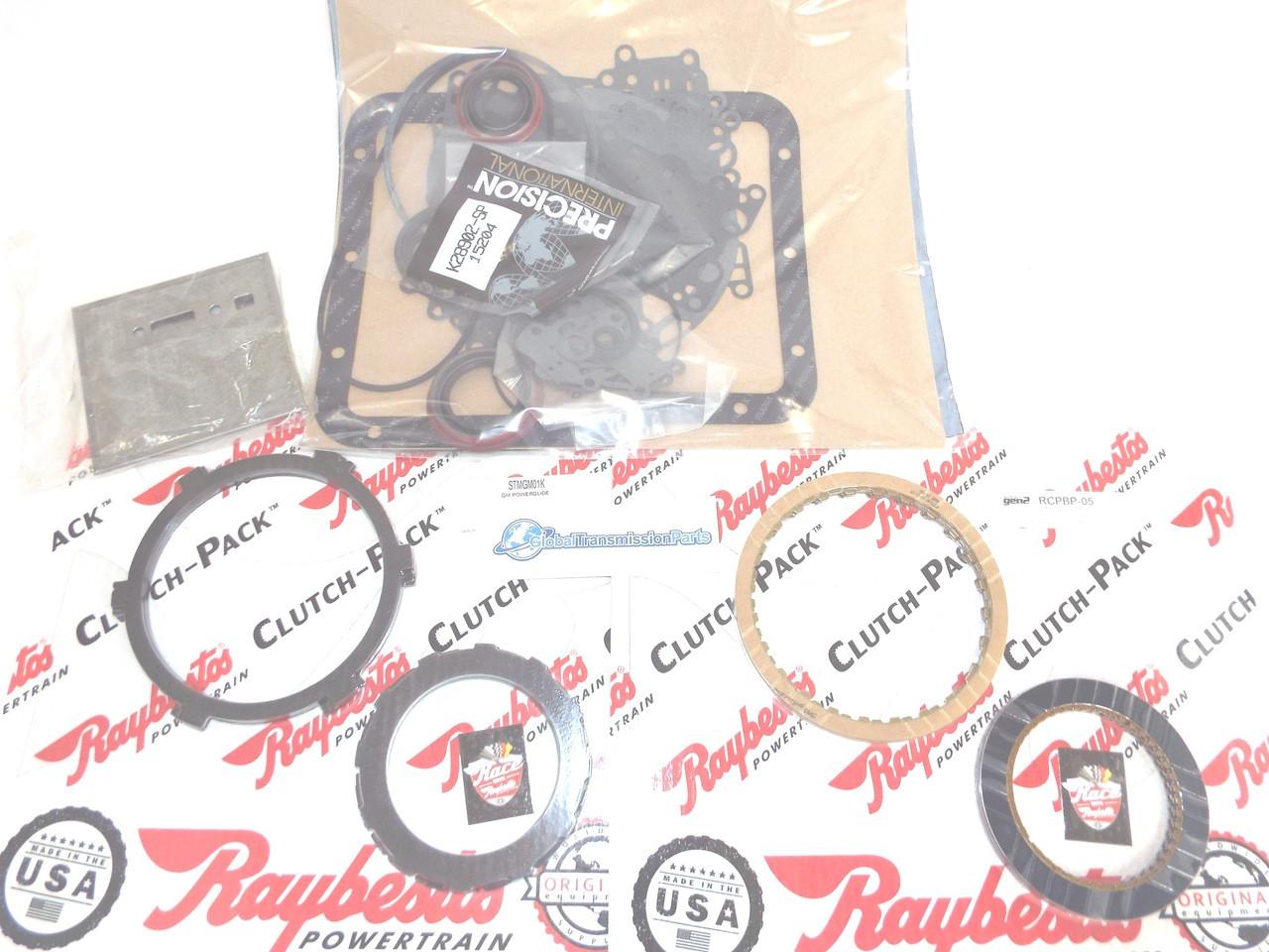 Basic Gen2 Blue Plate Special Powerglide Transmission Master Rebuild Kit