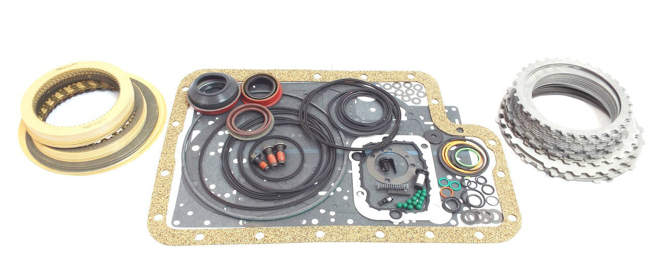 Ford 4r100 transmission basic master rebuild kit clutches steels image 1 publicscrutiny Image collections