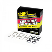 Chrysler Dodge A618 47RH 47RE Upgraded 1/2 Inch Cooler Line Clip Kit by Superior Transmission Parts
