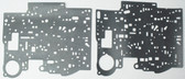 700R4 Valve Body Separator Plate Gasket Set (1987-1993) Upper & Lower
