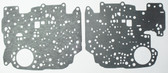 TH350C Valve Body Separator Plate Gasket Set (1980-1986) Upper & Lower w/ Lock Up