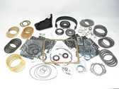 4L60E Master Rebuild Kit.  For 4L60E's manufactured between 1997 and 2003.  This 4L60E master rebuild kit comes complete with molded rubber pistons, gasket and seal kit, clutches, band, filter, steels, and master bushing kit.  Buy today from Global Transmission Parts.