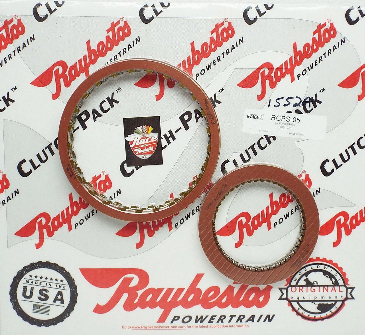 Powreglide Transmission Stage 1 Performance Friction Clutch Plate