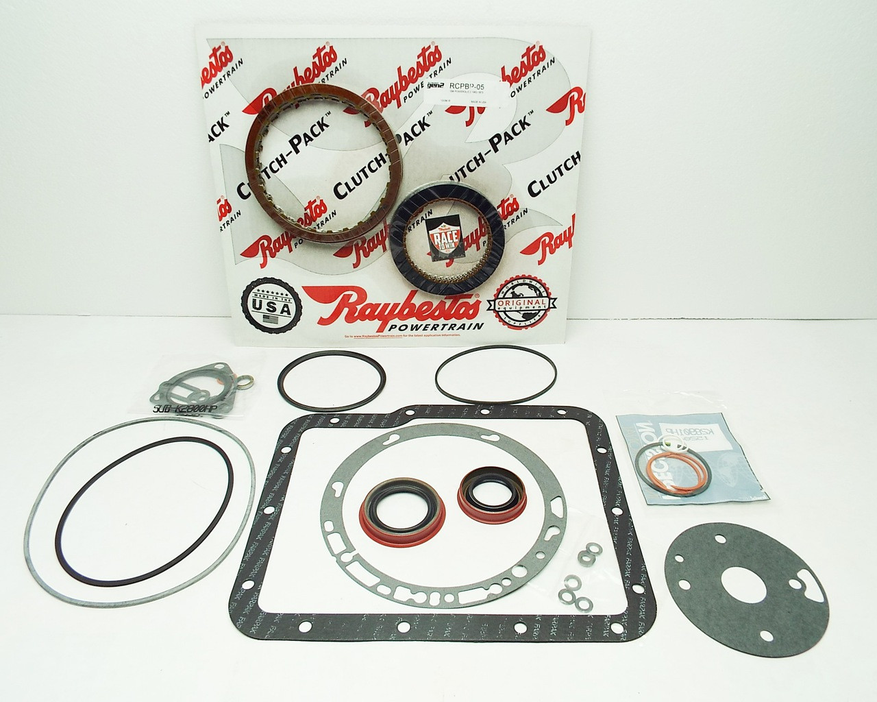 Gm Powerglide Banner Rebuild Kit For Racing W Raybestos Blue Plate