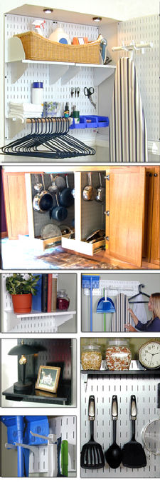 Gallery of Home Pegboard Storage and Organization Ideas