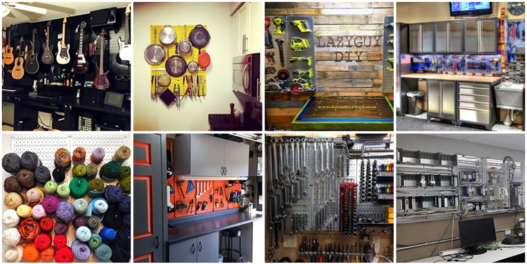 Customer Pictures of Wall Control Pegboard