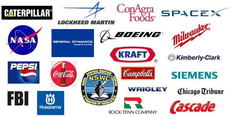 Wall Control Pegboard Industrial Customers