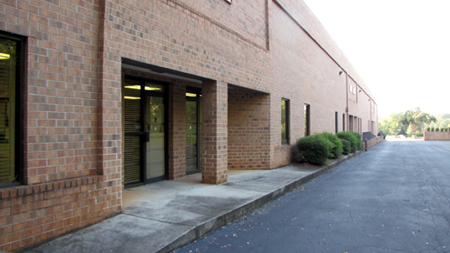 Warehouse offices located in Tucker, GA USA