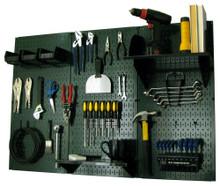 garage pegboard tool organizer
