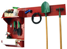 garden shed pegboard