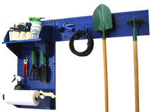 pegboard for garden tools by wall control