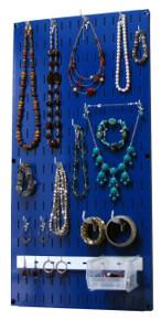 Blue Wall Control Jewelry Organizer 10-JWL-100 BU