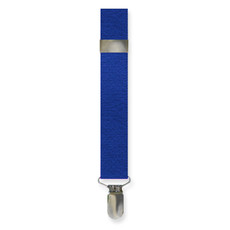 New Royal Blue Clip On Suspenders