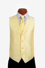 Sterling Vest and Tie Set in Yellow