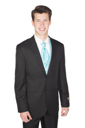 Black New Suit; 2-Piece Jacket and Pants