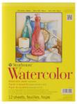 "341665, Strathmore Watercolor Pad 300 Series, 9""x12"""