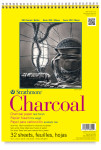 """347055, Strathmore Charcoal 300 Series Spiral Bound, 9""""x12"""""""