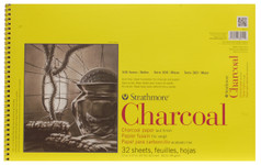 """347056, Strathmore Charcoal 300 Series Spiral Bound, 11""""x17"""""""