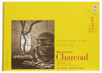 """347057, Strathmore Charcoal 300 Series Spiral Bound, 18""""x24"""""""