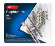 446442, Derwent Graphitint Pencils, 24 color Set