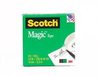 """572207, Scotch Magic Tape, 3/4"""" x 1296'"""