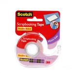 "572224, Scotch Photo & Document Double Stick Tape, 1/2""x300'"