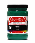 629104, Speedball  Waterbased Textile Screen Printing Ink, Green, 32oz.