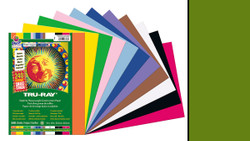 """342133, Tru-ray Construction Paper, Holiday Green, 9""""x12"""""""