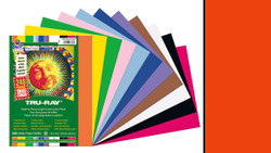 """342141, Tru-ray Construction Paper, Red, 9""""x12"""""""
