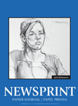 "342111, Richeson Newsprint, 18"" x 24"" Rough /100"