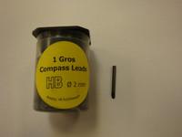 452423, Compass Lead, HB, 144/pk