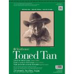 """341772, Toned Sketch - 400 Series, Tan,  11""""x 14""""  24 sheets per pad"""