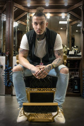 Barber Vest - Barber Strong Black