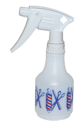 Spray Bottle Barber Pole Small