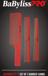 Babyliss Pro Comb Set of 3