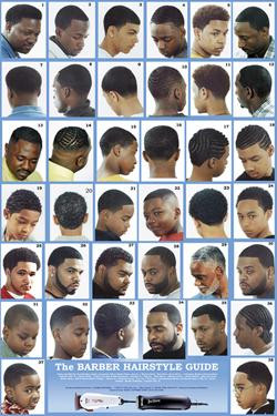 haircut style book barber shop poster 9 atlanta barber and supply 5760