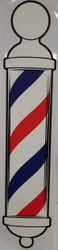 Barber Pole Decal - Large