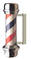 Barber Pole Sign - PhotoSteel