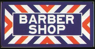 Barber Shop Sign - Photo Steel