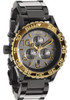 Nixon 42-20 Chrono Gunmetal/Gold