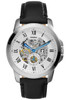 Fossil ME3053 Grant Leather Automatic Silver