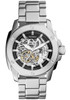 Fossil Modern Machine Automatic Skeleton Stainless Steel Watch ME3081
