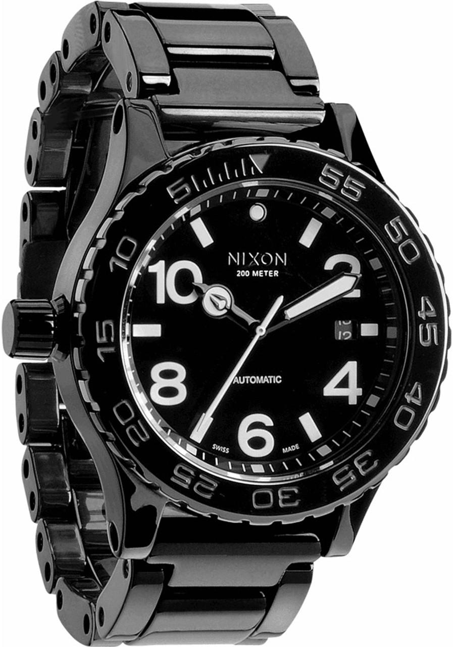 Nixon 42 20 Black Ceramic Swiss Automatic Watches Com