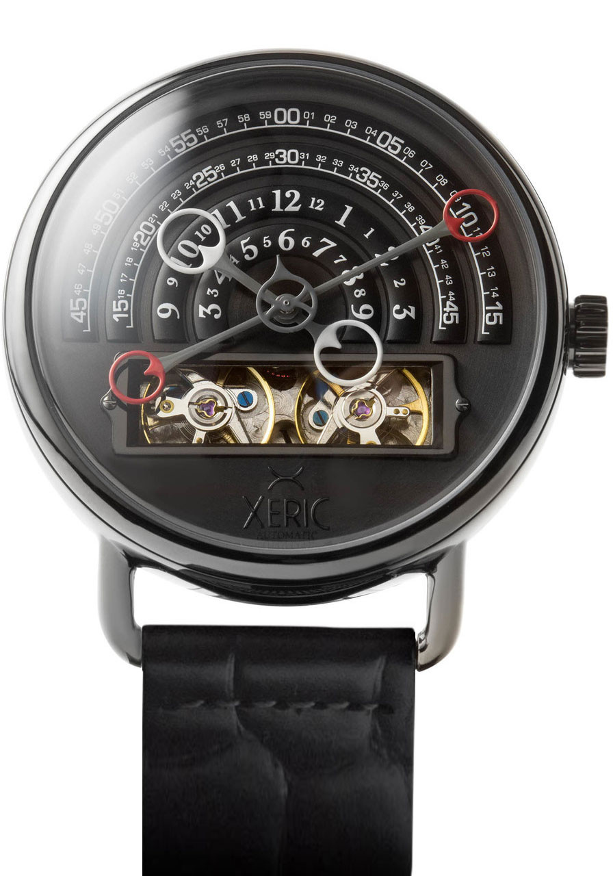 Xeric gunmetal halograph automatic limited edition for Watches xeric