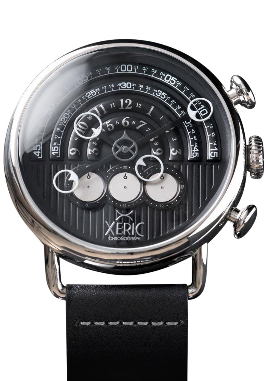 Xeric halograph chrono black silver for Watches xeric