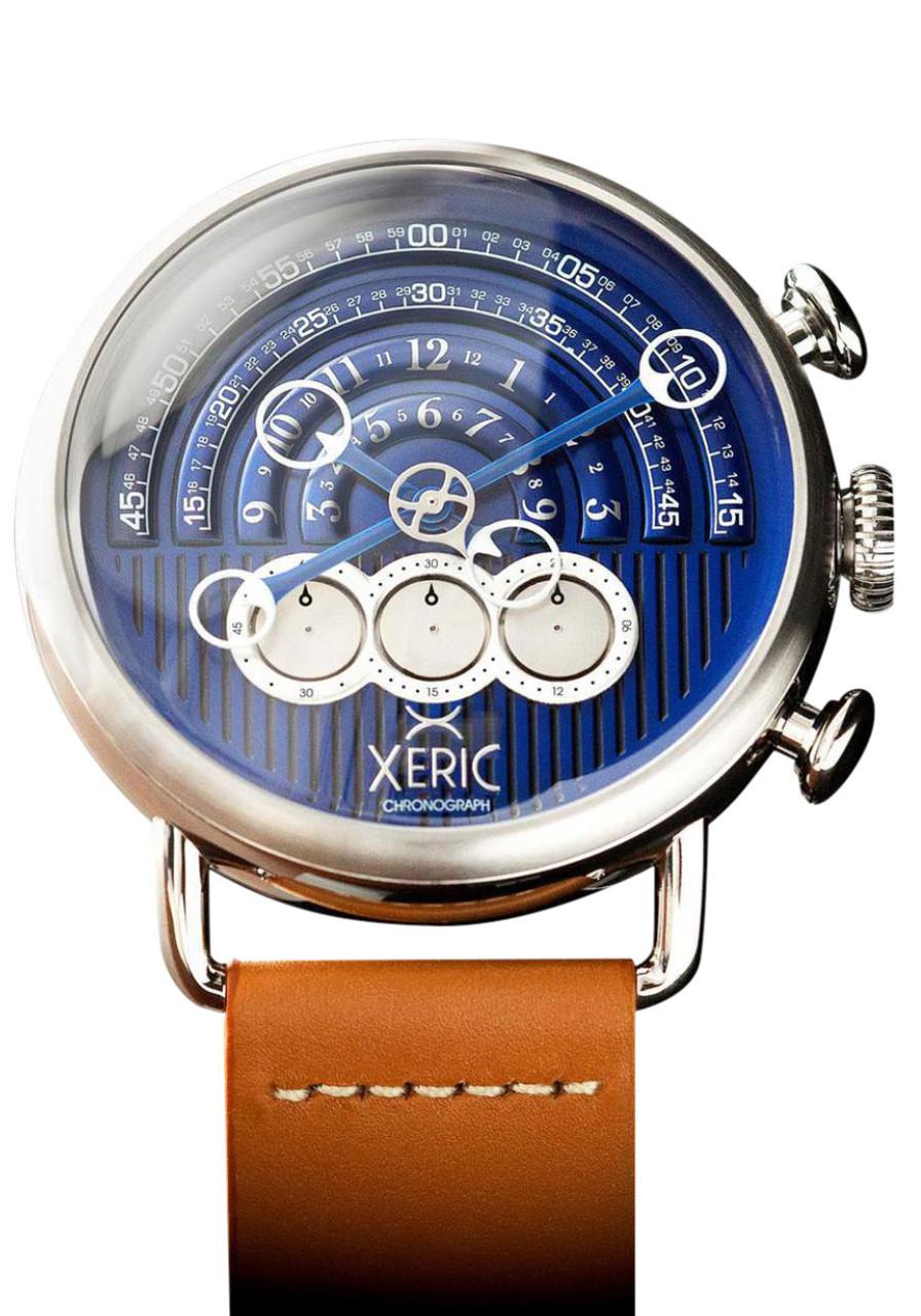 xeric halograph chrono tan navy On watches xeric